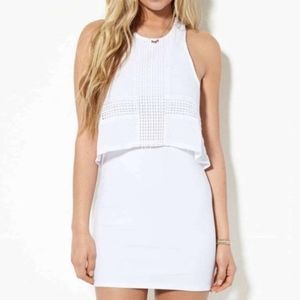 AEO Overlay Bodycon Dress